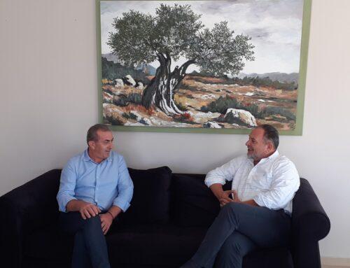 ΠΕΔ Κρήτης:  Συνάντηση Γιάννη Κουράκη – Σωκράτη Βαρδάκη