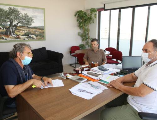 Συνάντηση Γιάννη Κουράκη με τον Πρόεδρο και τον Γραμματέα του «Ηράκλειο Όμιλος Αντισφαίρισης και Αθλοπαιδιών»