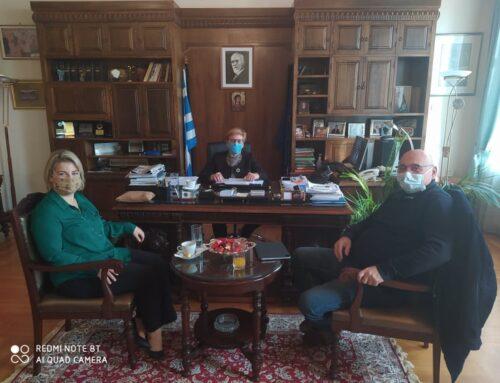 Συνάντηση Αντιπεριφερειάρχη Ρεθύμνης & Πρύτανη Πανεπιστημίου Κρήτης σήμερα στην έδρα της ΠΕΡ