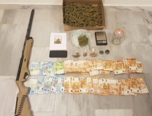 Συνελήφθη, ημεδαπός για παραβάσεις της Νομοθεσίας περί Ναρκωτικών ουσιών και όπλων, στα Χανιά