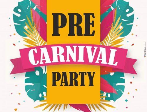 Pre-carnival party
