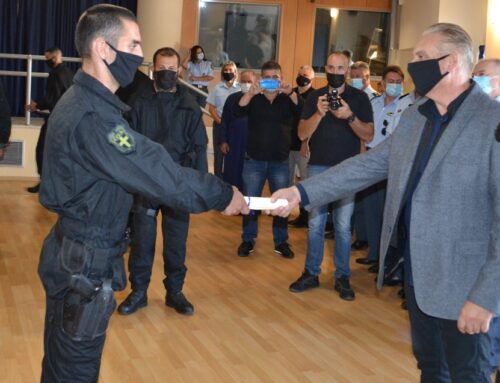 (23) αστυνομικοί στο νεοσύστατο Τμήμα Ειδικής Κατασταλτικής Αντιτρομοκρατικής Μονάδας (Τ.Ε.Κ.Α.Μ.) Κρήτης