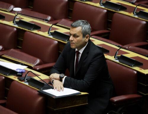 Στη Βουλή τα αιτήματα της Ομοσπονδίας Εμπορικών Συλλόγων Κρήτης από τον Χάρη Μαμουλάκη