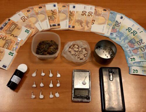 Συνελήφθησαν, δύο ημεδαποί για κατοχή και διακίνηση ναρκωτικών ουσιών, στο Ηράκλειο