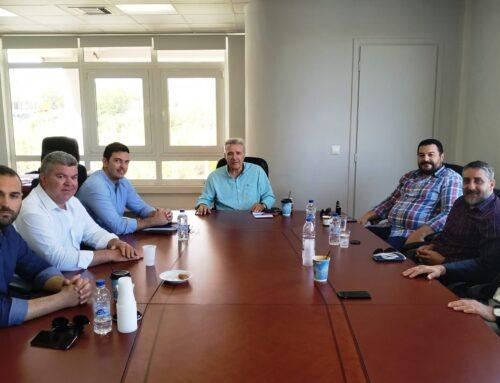 Μαρκογιαννάκης σε Παπαδογιάννη: Ο Ο.Α.Κ. αποτελεί το βασικότερο αναπτυξιακό εργαλείο της Κρήτης και πρέπει να στηριχθεί