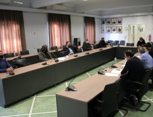 Ενημέρωση για το Δημοτικό Γηροκομείο από τη δημοτική αρχή στους επικεφαλής του Δημοτικού Συμβουλίου Χανίων