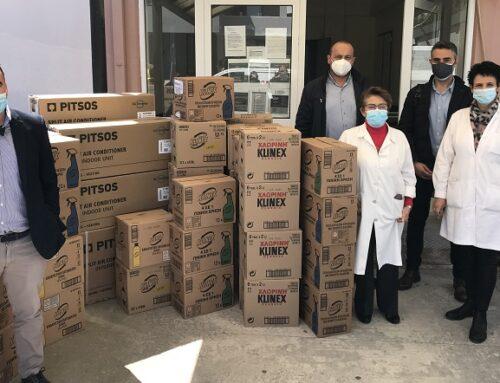 Χαλκιαδάκης και Unilever στο πλευρό του Κέντρου Υγείας Μοιρών, Τυμπακίου και Ζαρού