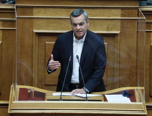 """Χ. Μαμουλάκης: """"Η αναγκαιότητα στήριξης επιχειρήσεων κι εργαζομένων δεν εξαφανίζεται με ένα click"""""""