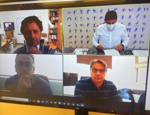 Διαδικτυακή συζήτηση Υφ. Αθλητισμού Λ. Αυγενάκη με τον Σύνδεσμο Ιδιοκτητών Φροντιστηρίων Μέσης Εκπαίδευσης ν. Ηρακλείου