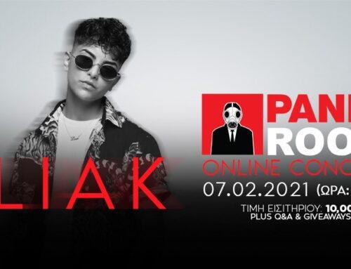 Panik Room – Online Concert: Liak
