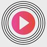 ΗΧΟΣ FM  94.2 Μουσικός ραδιοφωνικός σταθμός στο Ρέθυμνο Logo