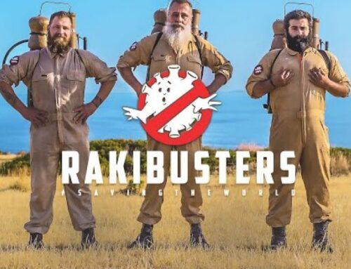 Οι RAKIBUSTERS σώζουν τον κόσμο! Το νέο viral video!